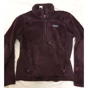 Patagonia small fuzzy zip up